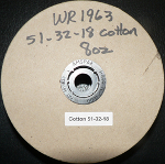 Cotton Core Wick on Spool