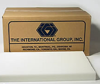 straight paraffin wax ~ 1343A comes in 60 lb boxes, of 6 slabs, or by the 10 lb slab