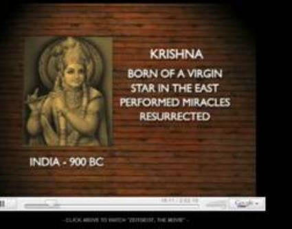 Krishna has the same characteristics as Jesus