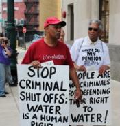 water shut offs