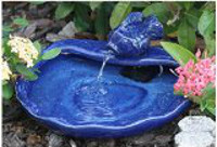 Solar Blue Glazed Fountain 200