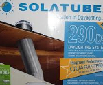 Solatube box - for a flat roof like mine, everything's inside