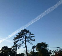single chemtrail 200
